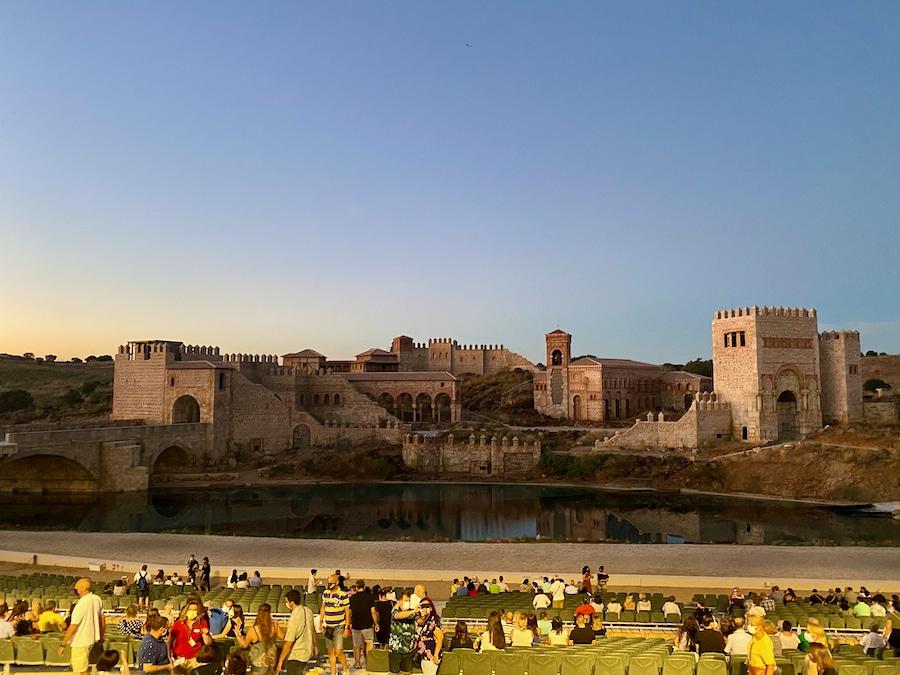 Escenario de El Sueño de Toledo en Puy du Fou España
