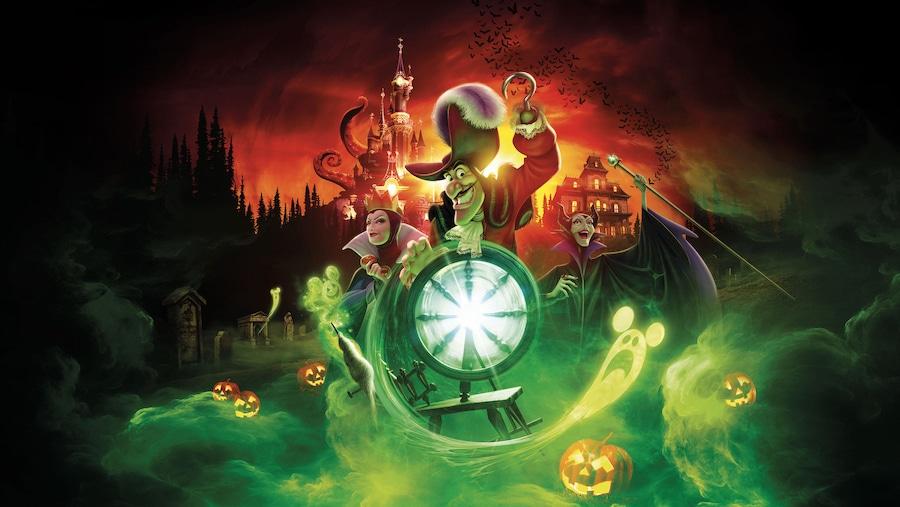 Imagen promocional del Halloween 2020 en Disneyland Paris