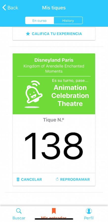 Lineberty en Disneyland Paris - Reservar paso 9