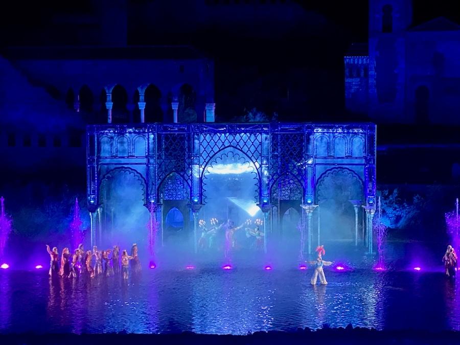 Palacio de Cristal de Al-Mamun en El Sueño de Toledo de Puy du Fou España