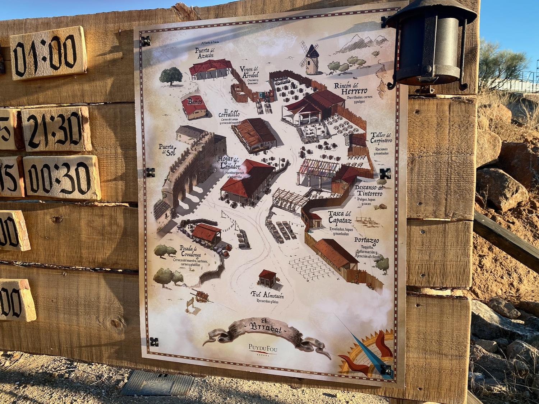 Plano de El Arrabal en Puy du Fou España 2020