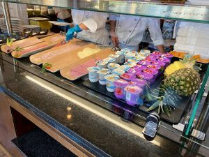 Desayuno buffet Hotel PortAventura - Embutidos y yogures