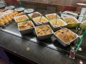 Desayuno buffet Hotel PortAventura - Galletas y cereales
