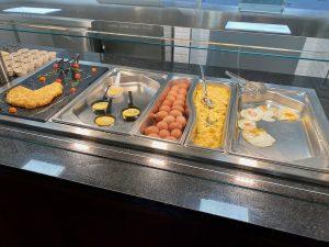 Desayuno buffet Hotel PortAventura - Huevos y tortillas