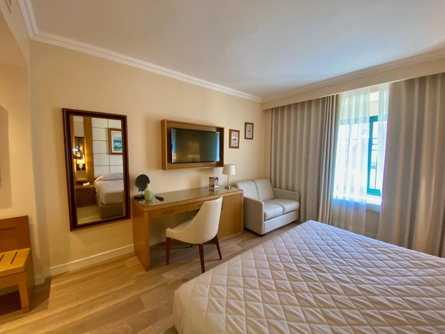 Detalles de la habitación standard del Hotel PortAventura de PortAventura World