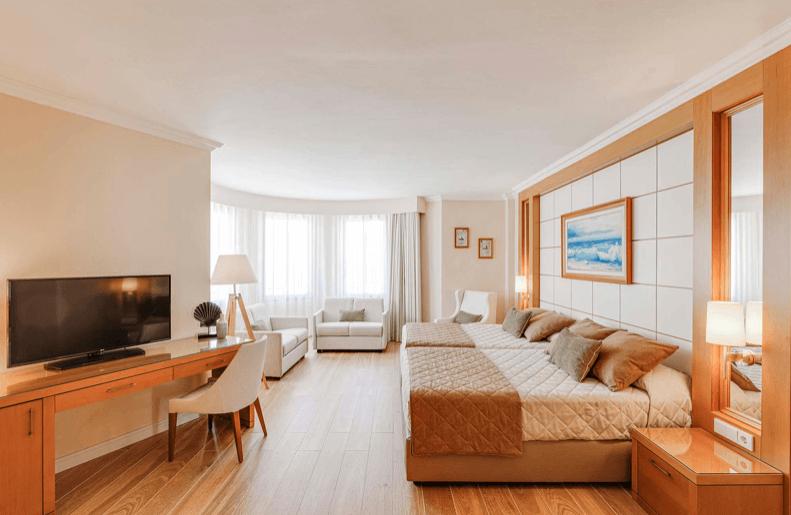 Habitación Junior Suite del Hotel PortAventura