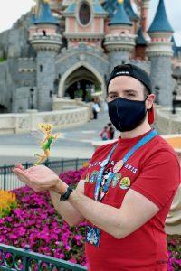 MagicShot de Campanilla en Disneyland Paris
