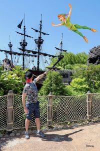 MagicShot de Peter Pan en Disneyland Paris