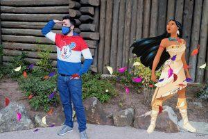 MagicShot de Pocahontas en Disneyland Paris