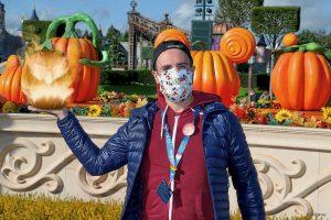 MagicShot de calabaza ardiendo en Disneyland Paris
