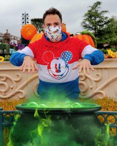 MagicShot de caldero mágico en Disneyland Paris