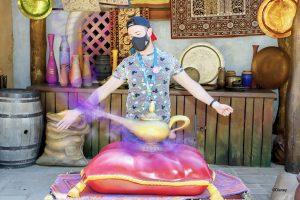 MagicShot de la lámpara de Aladdin en Disneyland Paris