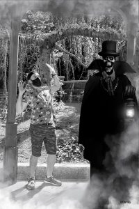MagicShot del Fantasma de Phantom Manor en Disneyland Paris