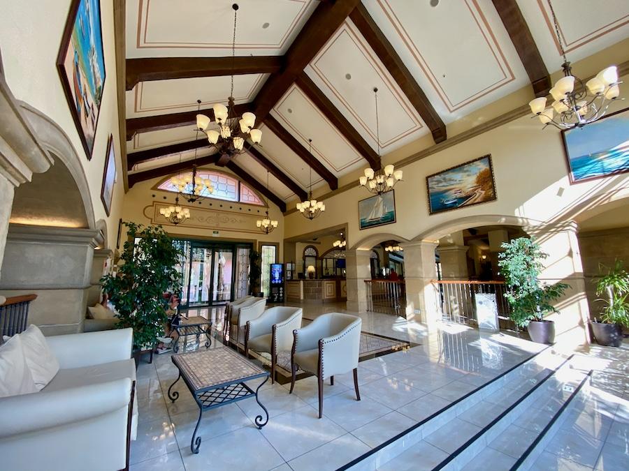 Recepción del Hotel PortAventura en PortAventura World