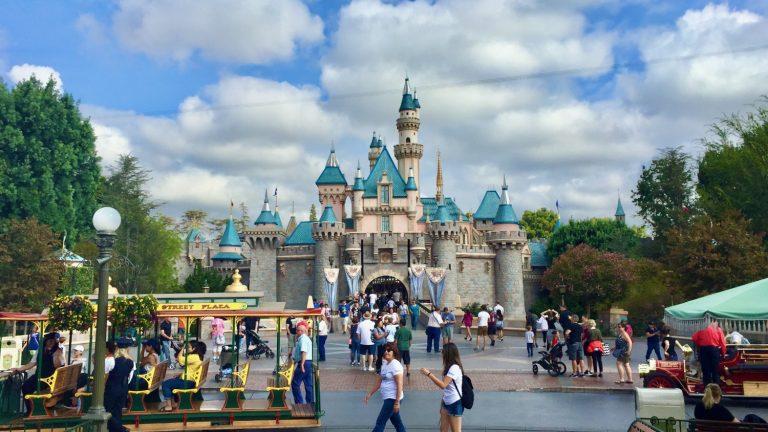 Castillo de la Bella Durmiente en Disneyland Resort en Anaheim California