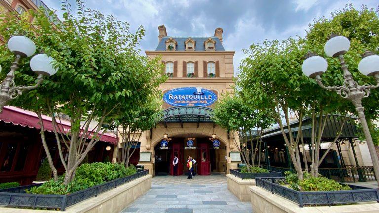 Entrada a la atracción de Ratatouille en Walt Disney Studios en Disneyland Paris