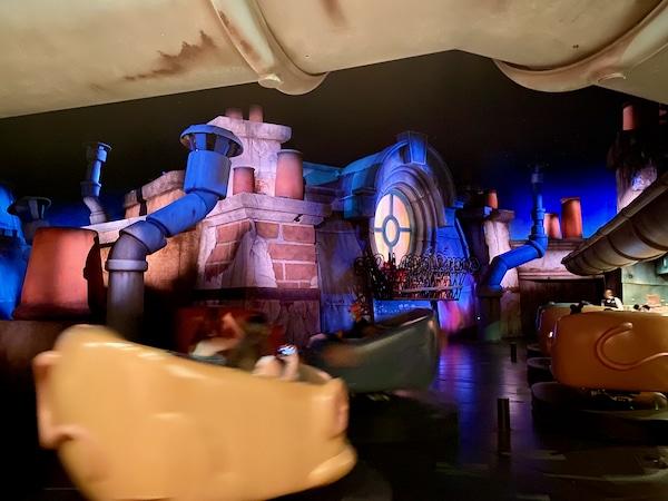 Interior de Ratatouille Atracción de Walt Disney Studios en Disneyland Paris