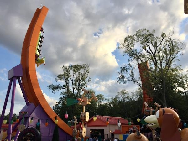 RC Racer de Toy Story Atracción de Walt Disney Studios en Disneyland Paris