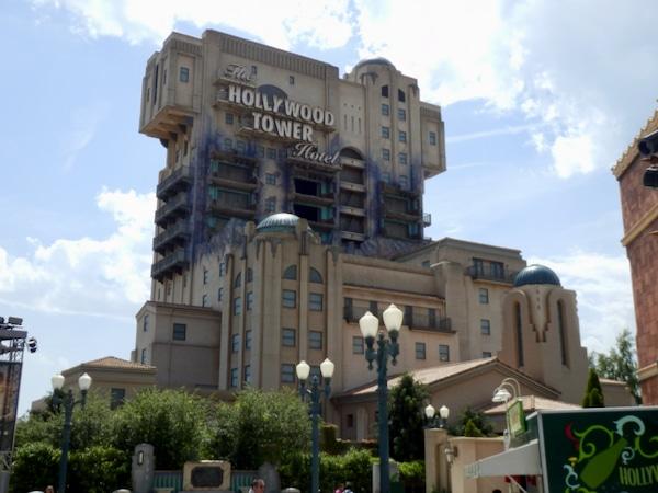 The Twilight Zone Tower of Terror Atracción de Walt Disney Studios en Disneyland Paris