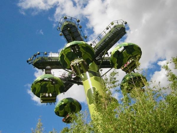 Toy Soldiers Parachute Drop de Toy Story Atracción de Walt Disney Studios en Disneyland Paris