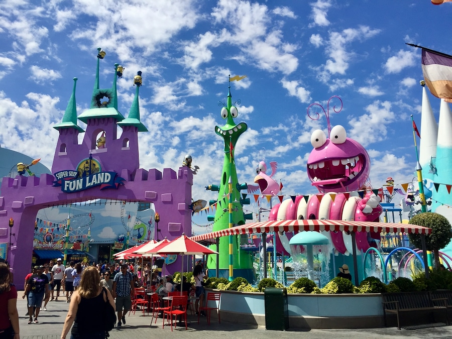 Área de Super Silly Fun Land de Los Minions en Universal Studios Hollywood