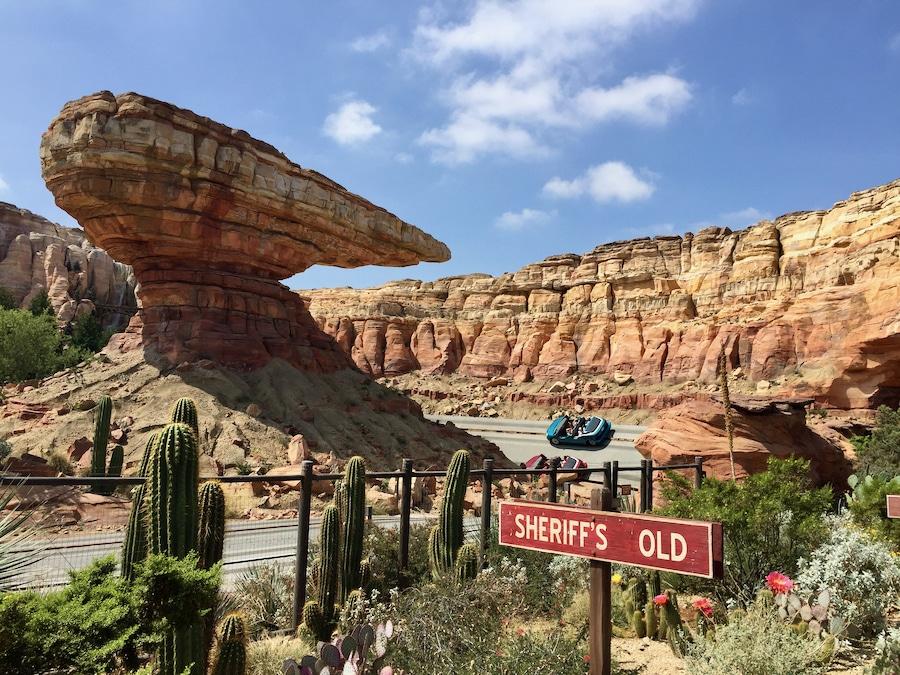 Atracción Radiator Springs Racers en Disney California Adventure
