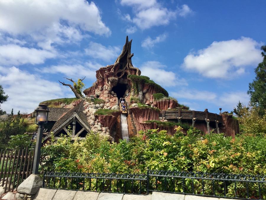 Atracción Splash Mountain en Disneyland Resort de California
