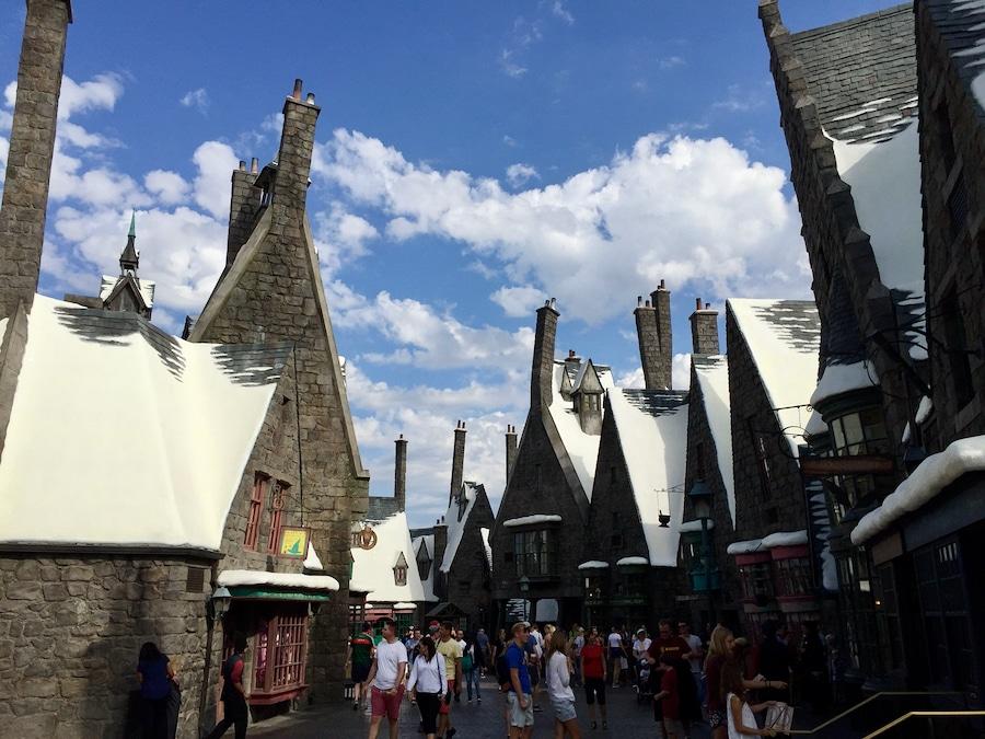 Calles de Hogsmeade en el Mundo Mágico de Harry Potter en Universal Studios Hollywood
