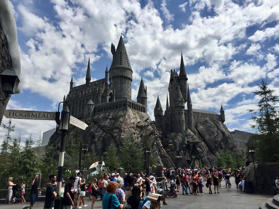 Castillo de Hogwarts en Universal Studios Hollywood
