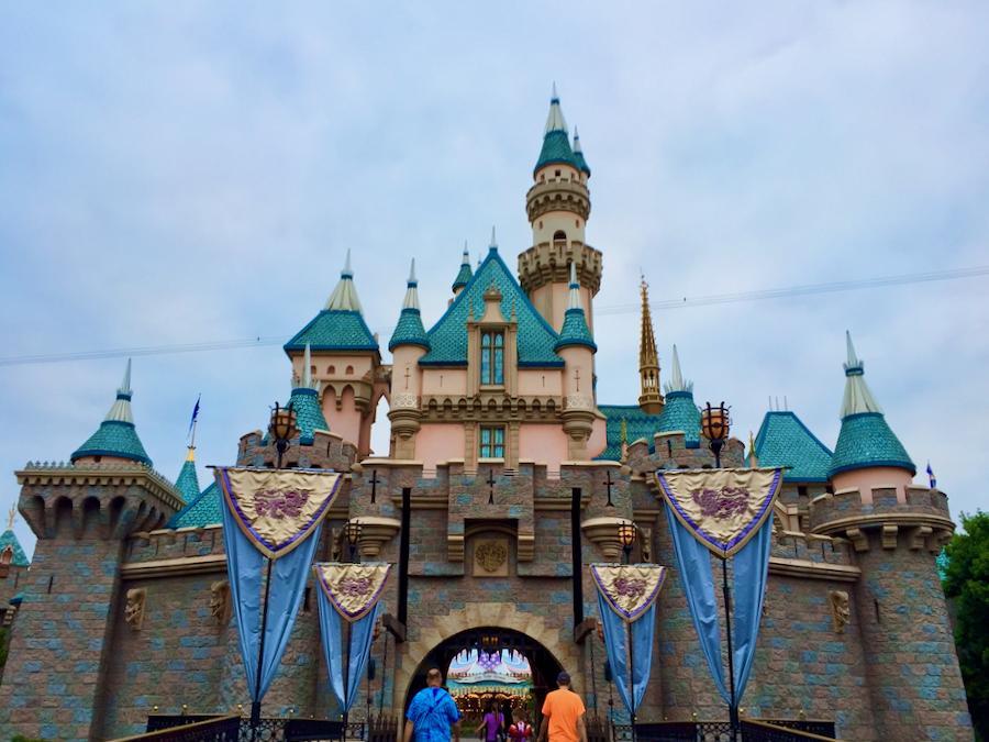 Castillo de la Bella Durmiente en Disneyland California