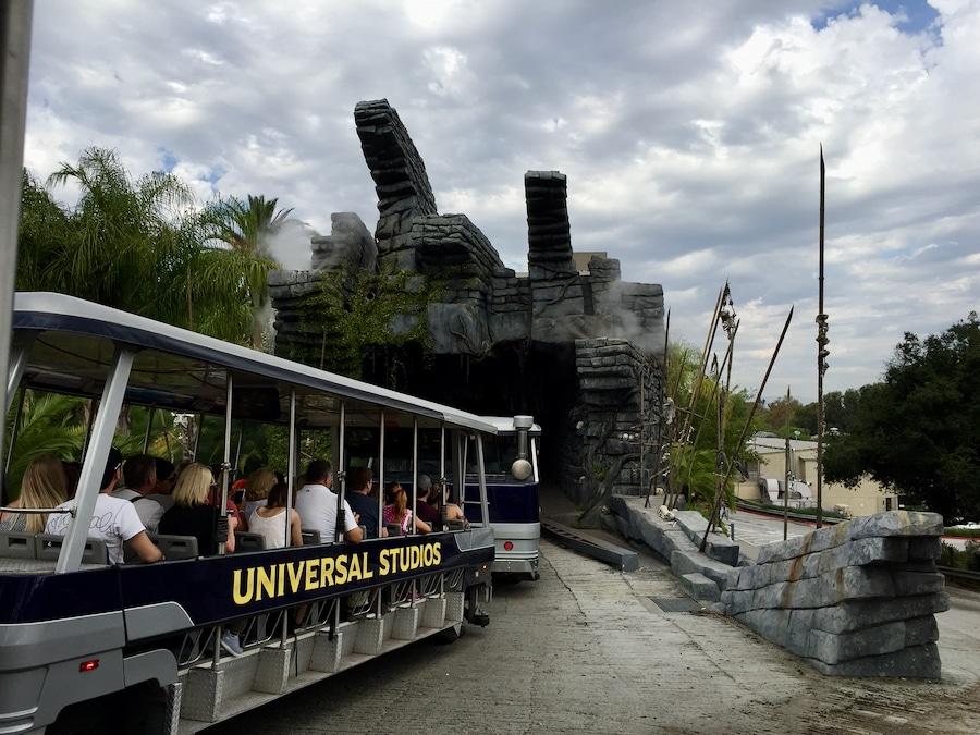 Entrada a la sección de King Kong en el Studio Tour de Universal Studios Hollywood