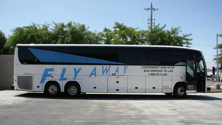 Flyaway bus de Los Ángeles