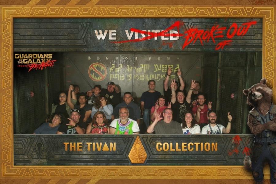 Foto de atracción de PhotoPass en Guardians of the Galaxy Mission Breakout de Disney California Adventure