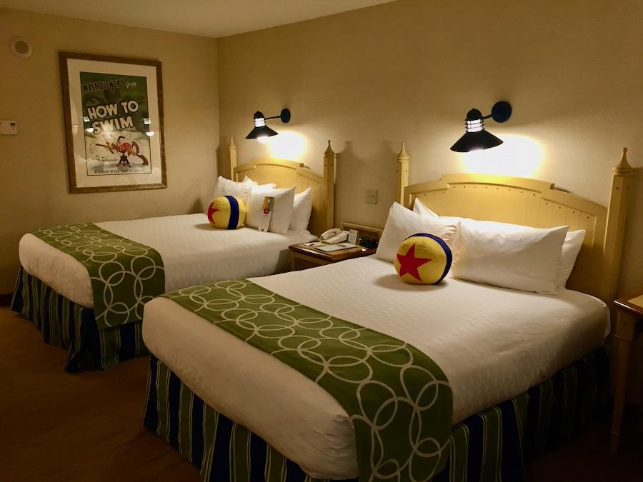 Habitación del hotel Paradise Pier de Disneyland Resort en California