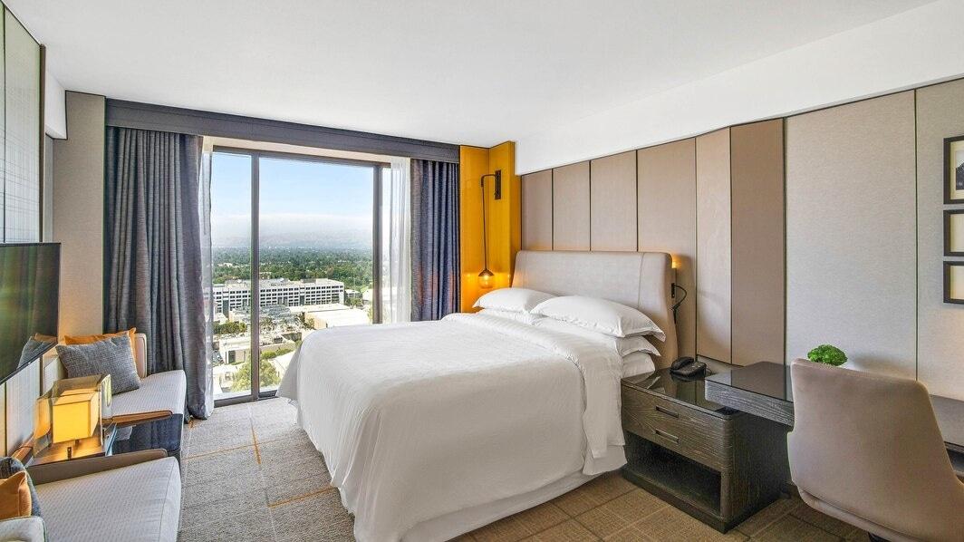 Habitación del hotel Sheraton Universal cerca de Universal Studios Hollywood