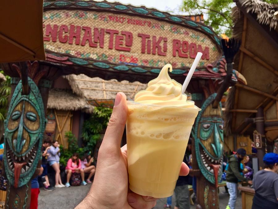 Snack Dole Whip Float en Disneyland Resort de California