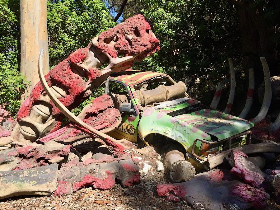 Vehículo de Jurassic Park en el Studio Tour de Universal Studios Hollywood