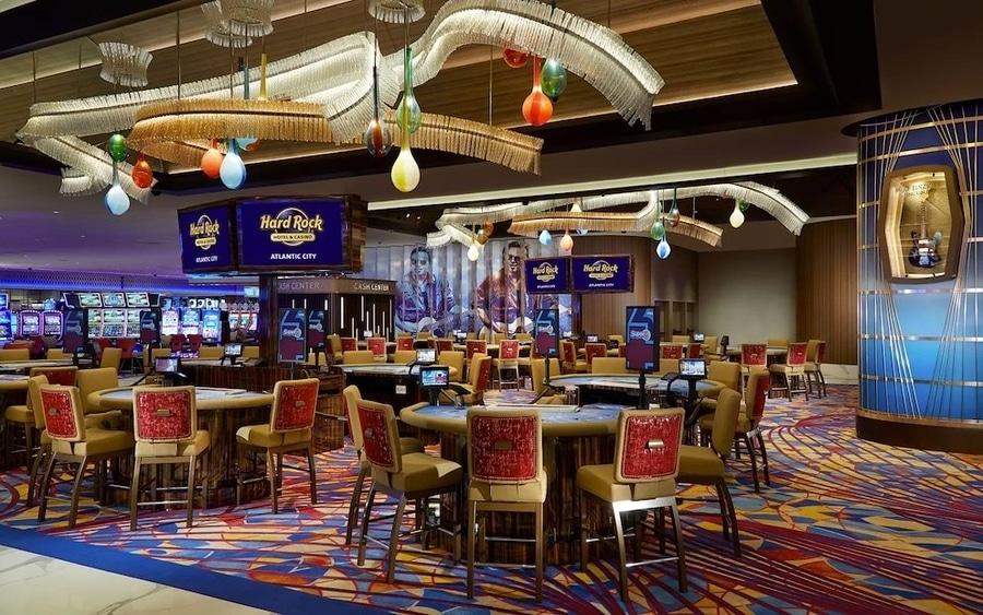 Casino del Hotel Hard Rock de Atlantic City similar al que habra cerca de PortAventura World