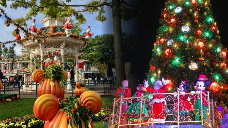 Temporadas Temáticas de Disneyland Paris - Halloween y Navidad