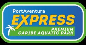 Logo PortAventura Express Caribe Aquatic Park