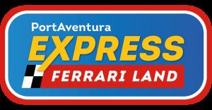 Logo PortAventura Express Ferrari Land