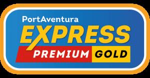 Logo PortAventura Express Premium Gold