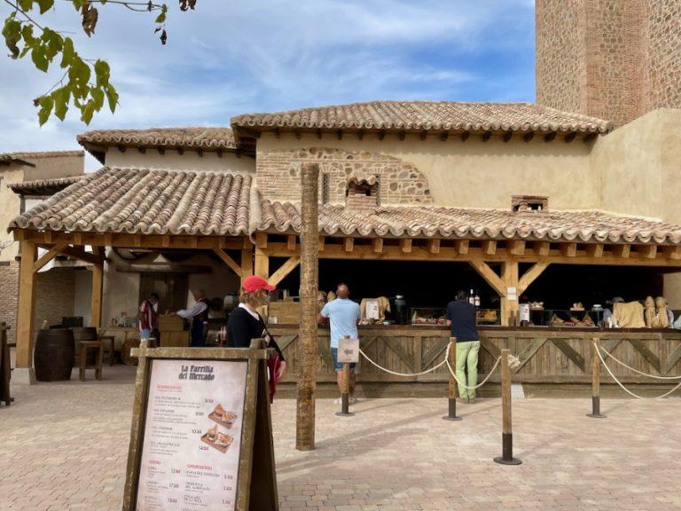 La Parrilla del Mercado en La Puebla Real de Puy du Fou España