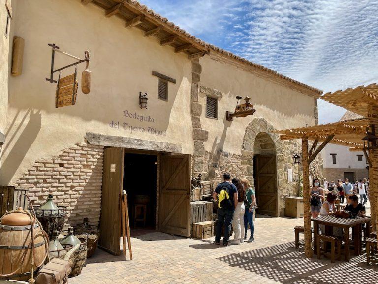 Restaurante La Bodeguita del Tuerto Miguel en La Puebla Real de Puy du Fou España