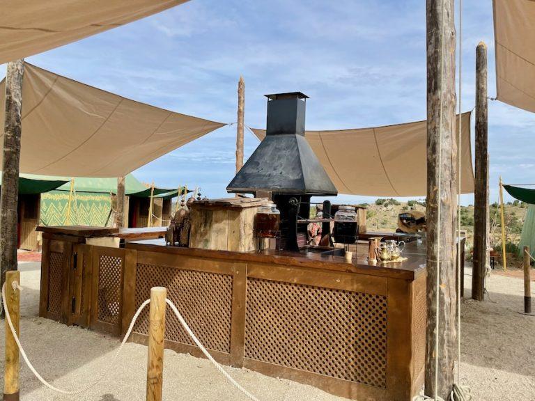 Restaurante La Shawaya Cordobesa en El Askar Andalusí de Puy du Fou España