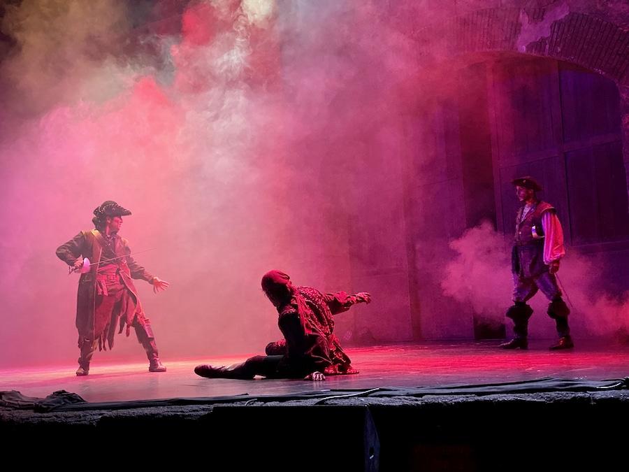 Espectáculo de Piratas Fantasma en el Fuerte de Isla Mágica