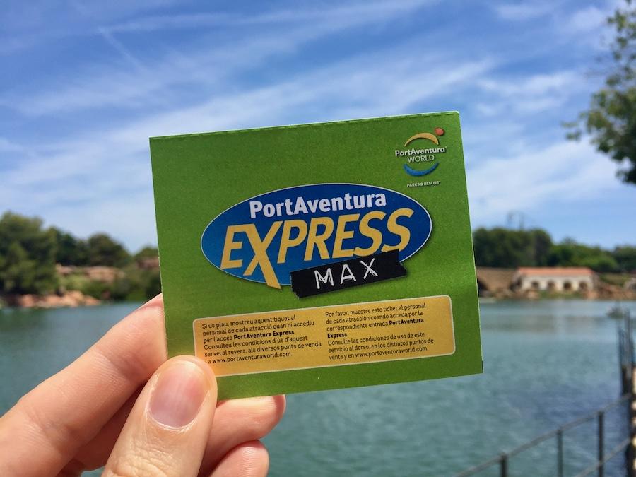Pase Express Max de PortAventura