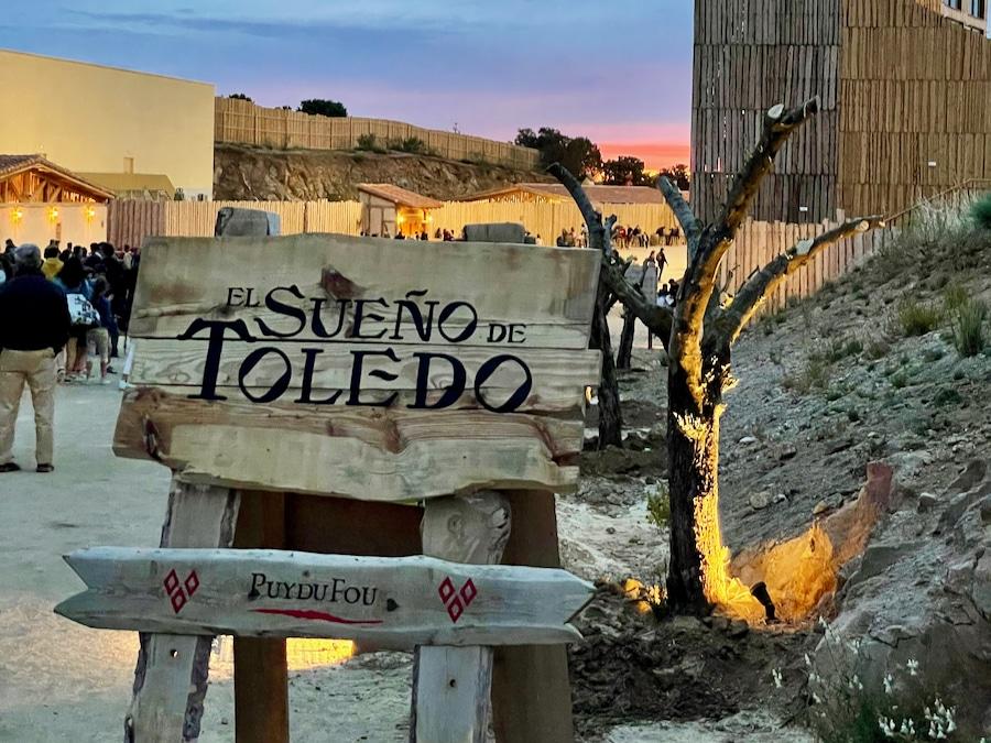 Cartel de El Sueño de Toledo en Puy du Fou España