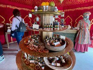 Aceites esenciales en El Alatar de la Favorita de Puy du Fou España
