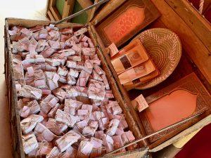 Arcillas del Alatar de la Favorita en Puy du Fou España